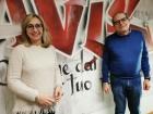 Giovanna Salvoni e Massimo Lauri