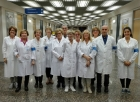 gruppo di volontari Avulss agli ospedali Riuniti di Ancona