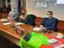 un momento della conf. stampa di presentazione