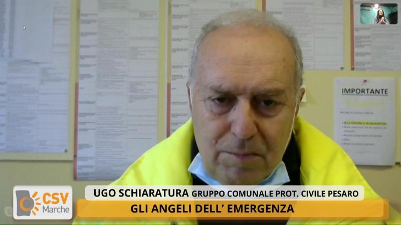Emergenza Coronavirus, i volontari della protezione civile di Pesaro e Fano protagonisti a