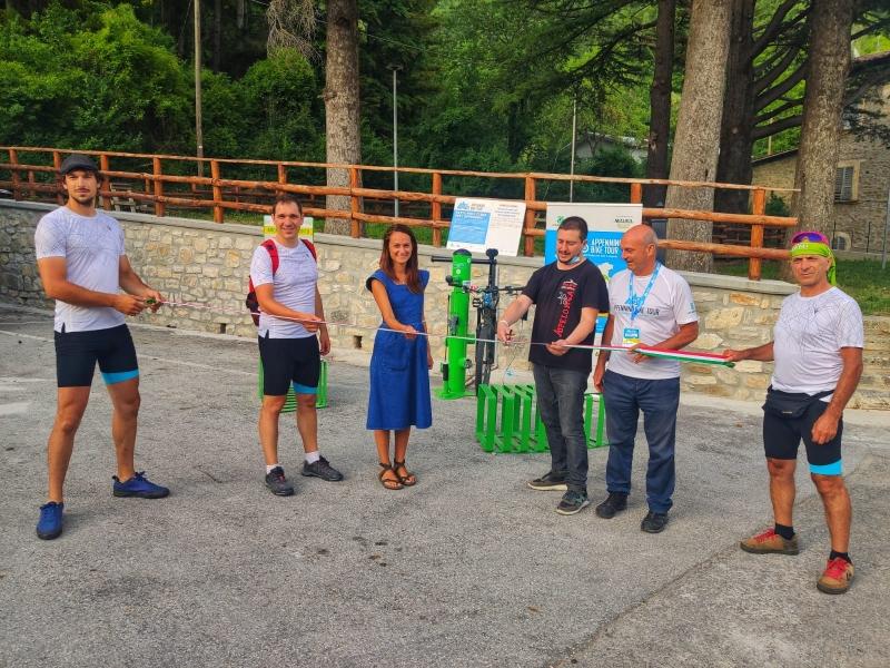 """Arriva nelle Marche """"Appennino Bike Tour 2021"""", la ciclovia più lunga d'Italia"""