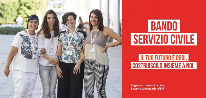Aism di Ancona e Pesaro - Urbino, nuovo bando per i giovani nei progetti di Servizio Civile