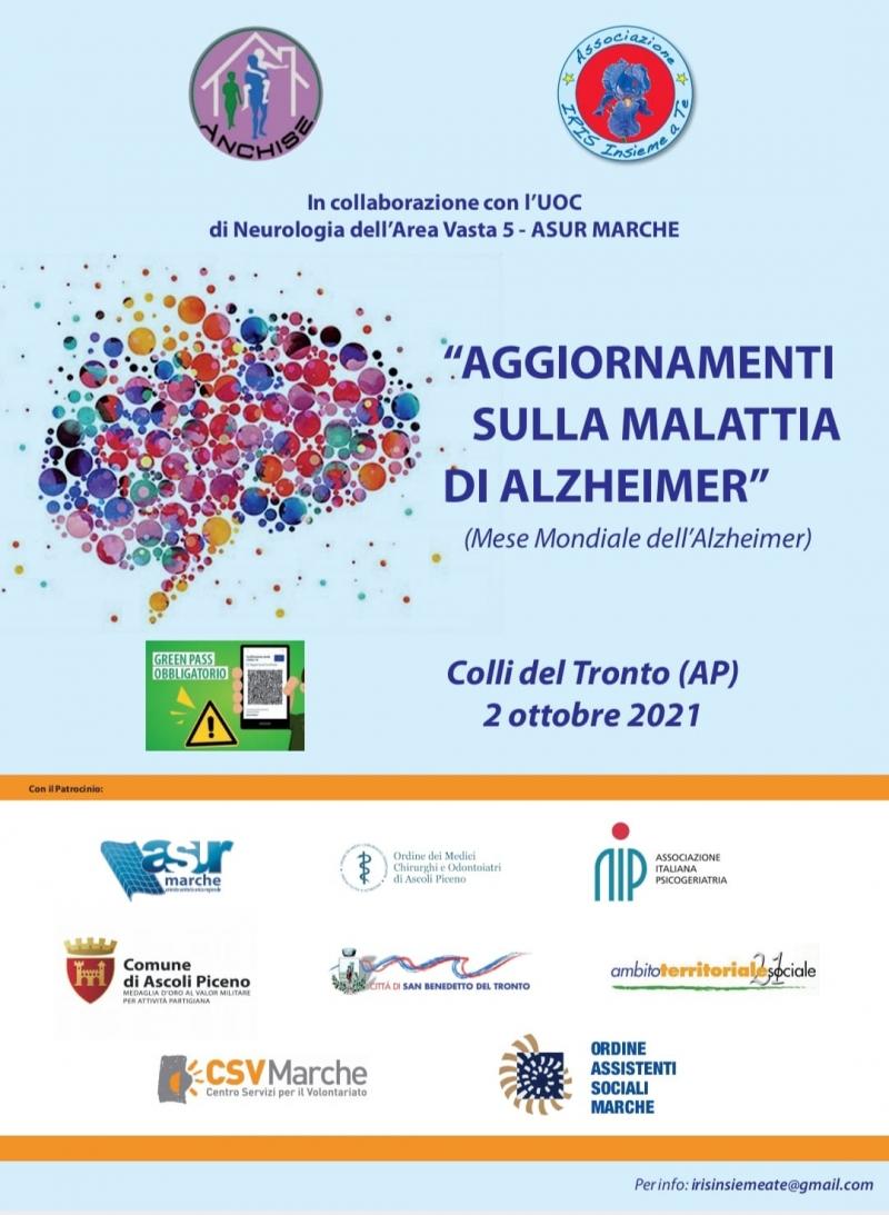 """""""Aggiornamenti sulla Malattia di Alzheimer"""", il convegno"""
