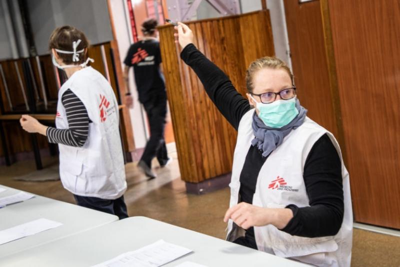 Coronavirus, il supporto di Medici senza frontiere nelle Marche