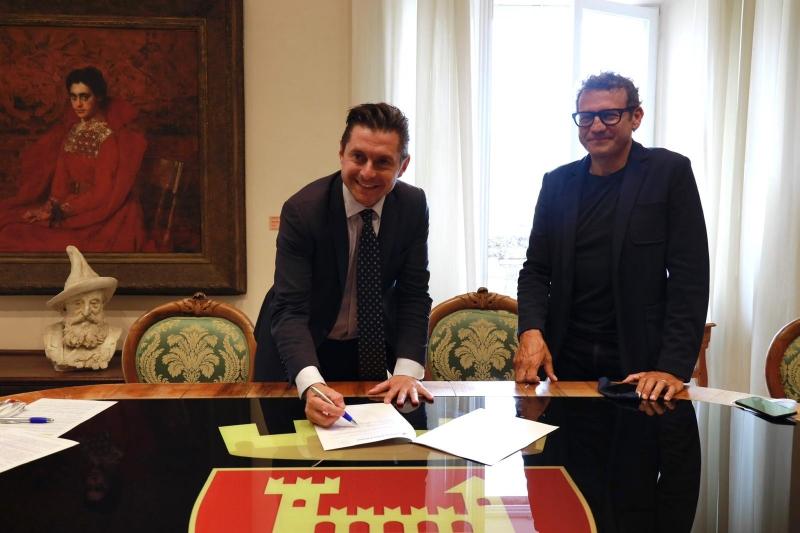 Firmato un protocollo d'intesa tra il Comune di Ascoli e il CSV Marche