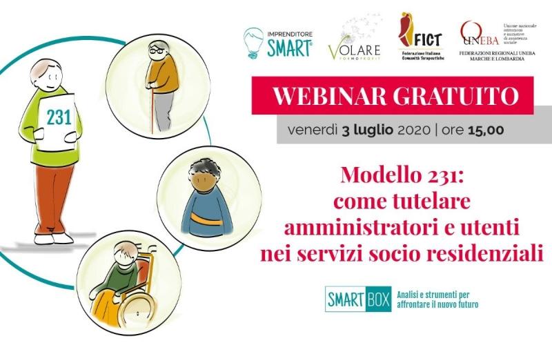 Modello 231: come tutelare amministratori e utenti nei servizi sociali e residenziali, un webinar gratuito